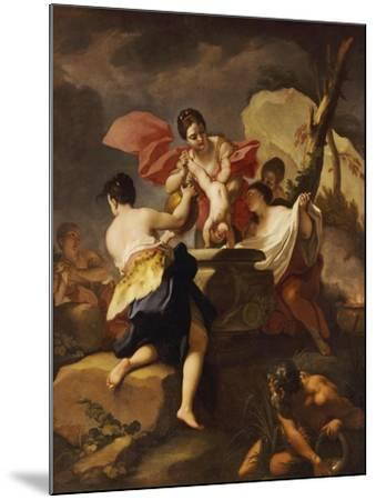 Thetis Dipping the Infant Achilles Into Water from the Styx-Antonio Balestra-Mounted Giclee Print