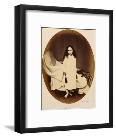 Irene, circa 1863-Lewis Carroll-Framed Premium Giclee Print