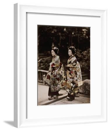 Japanese Costumes, 1880s--Framed Giclee Print