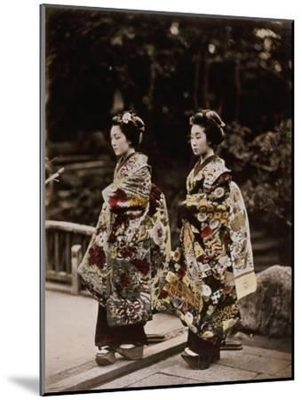 Japanese Costumes, 1880s--Mounted Giclee Print