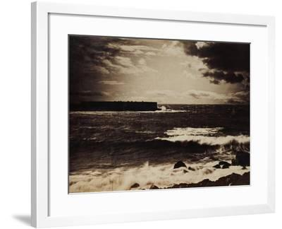 The Great Wave, Sete, 1856-9-Gustave Le Gray-Framed Giclee Print
