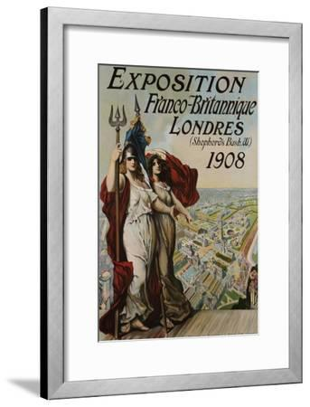 Exposition Franco-Britannique, Londres (Shepherd's Bush) 1908--Framed Giclee Print