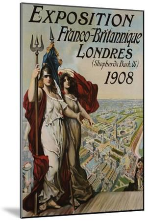 Exposition Franco-Britannique, Londres (Shepherd's Bush) 1908--Mounted Giclee Print