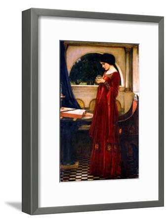 The Crystal Ball, 1902-John William Waterhouse-Framed Giclee Print