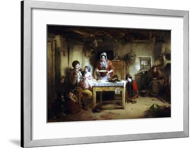 Home and the Homeless, 1856-Thomas Faed-Framed Giclee Print