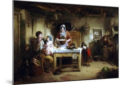 Home and the Homeless, 1856-Thomas Faed-Mounted Giclee Print