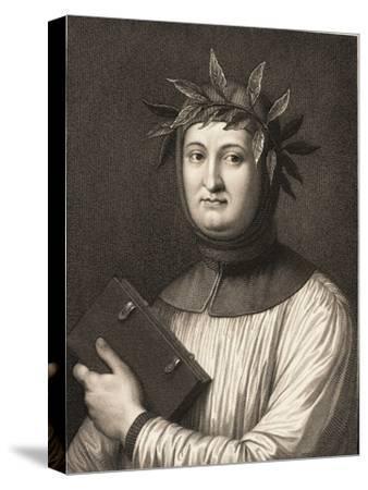 Francesco Petrarch--Stretched Canvas Print