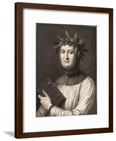 Francesco Petrarch--Framed Giclee Print