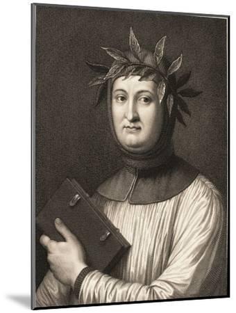 Francesco Petrarch--Mounted Giclee Print