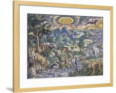 Fiat Lux (Let There Be Light)--Framed Giclee Print