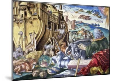 Noah's Arc--Mounted Giclee Print