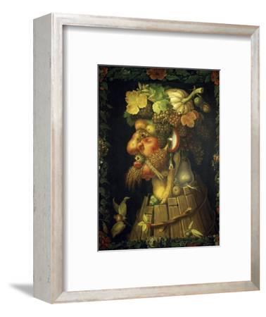Autumn-Giuseppe Arcimboldo-Framed Premium Giclee Print