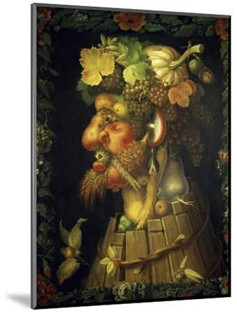 Autumn-Giuseppe Arcimboldo-Mounted Premium Giclee Print