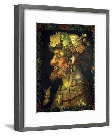 Autumn-Giuseppe Arcimboldo-Framed Giclee Print