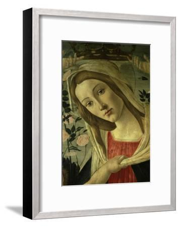 The Virgin and Child Surrounded by Angels-Sandro Botticelli-Framed Giclee Print
