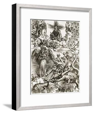 The Apocalyptic Woman-Albrecht D?rer-Framed Giclee Print