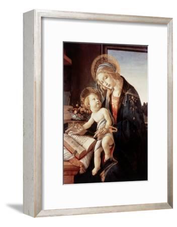 Madonna Del Libro-Sandro Botticelli-Framed Giclee Print