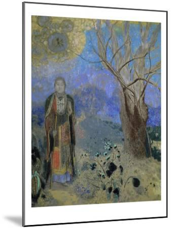The Buddha, circa 1905-Odilon Redon-Mounted Giclee Print