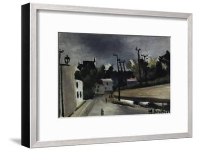 Street Scene-Henri Rousseau-Framed Giclee Print