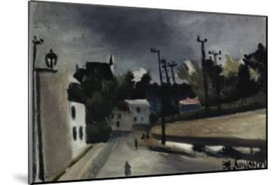Street Scene-Henri Rousseau-Mounted Giclee Print