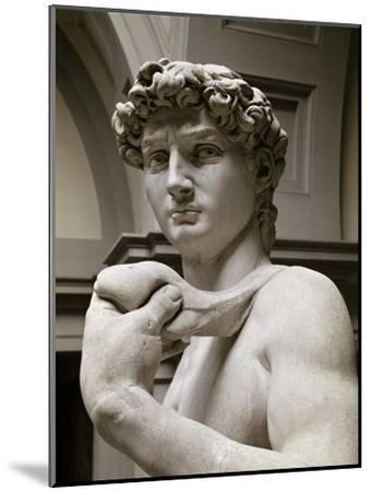 David, Detail-Michelangelo Buonarroti-Mounted Giclee Print