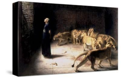 Daniel's Answer to the King-Briton Rivi?re-Stretched Canvas Print
