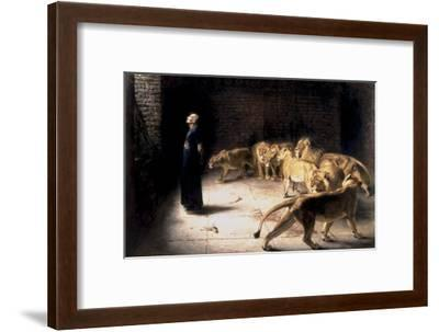 Daniel's Answer to the King-Briton Rivi?re-Framed Giclee Print
