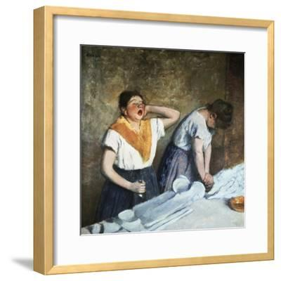 The Launderesses-Edouard Manet-Framed Giclee Print