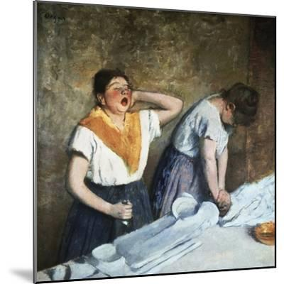 The Launderesses-Edouard Manet-Mounted Giclee Print