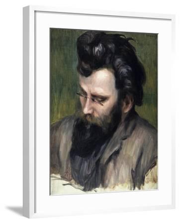 Portrait of Claude Terrasse-Pierre-Auguste Renoir-Framed Giclee Print