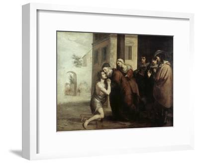 The Return of the Prodigal Son-Bartolome Esteban Murillo-Framed Giclee Print