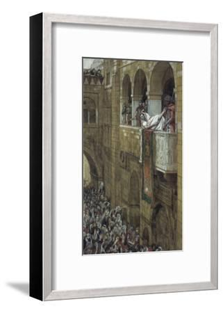 Ecce Homo!-James Tissot-Framed Giclee Print