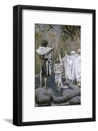 Baptism of Jesus-James Tissot-Framed Giclee Print