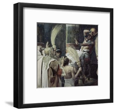 The Plague of Flies Giclee Print by James Tissot   Art com