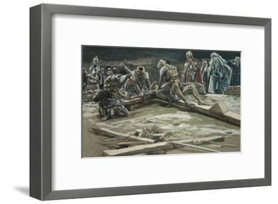 The First Nail-James Tissot-Framed Giclee Print