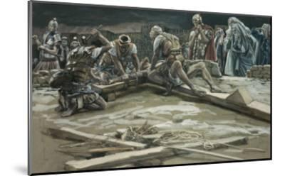 The First Nail-James Tissot-Mounted Giclee Print
