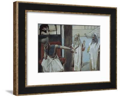 Pharaoh Sueth to Moses-James Tissot-Framed Giclee Print