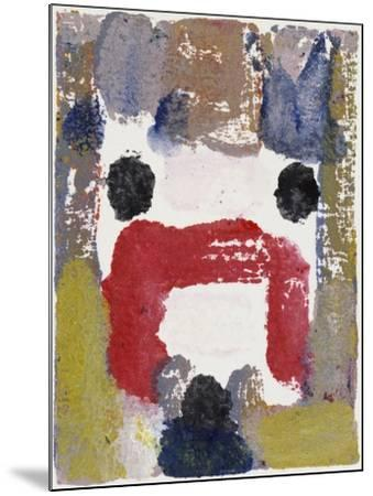 Abstract No.22-Diana Ong-Mounted Giclee Print