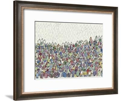 All These People-Diana Ong-Framed Giclee Print