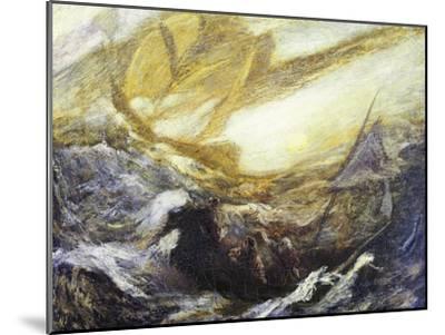 Flying Dutchman-Albert Pinkham Ryder-Mounted Giclee Print