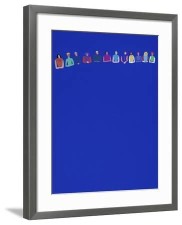 Conference-Diana Ong-Framed Giclee Print