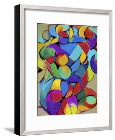 Mother and Child III-Diana Ong-Framed Giclee Print