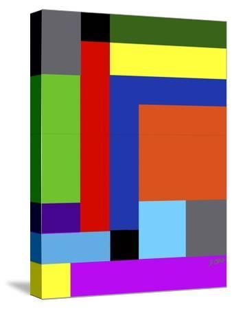 Blk-Square-Diana Ong-Stretched Canvas Print