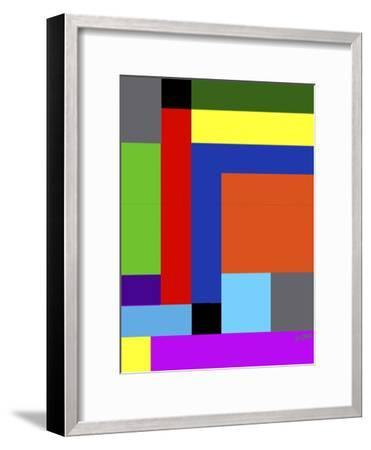 Blk-Square-Diana Ong-Framed Giclee Print