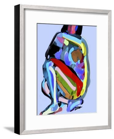 Abstract No.8-Diana Ong-Framed Giclee Print
