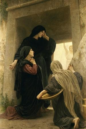 The Three Marys at the Tomb-William Adolphe Bouguereau-Stretched Canvas Print