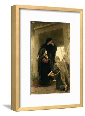 The Three Marys at the Tomb-William Adolphe Bouguereau-Framed Giclee Print