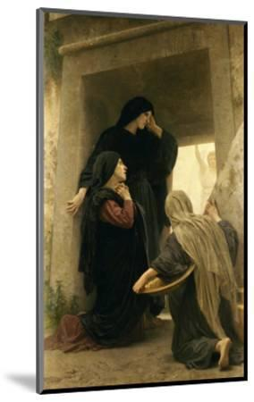 The Three Marys at the Tomb-William Adolphe Bouguereau-Mounted Giclee Print