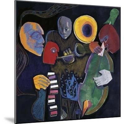 Jazz Velvet-Gil Mayers-Mounted Giclee Print