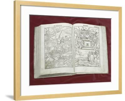 Martin Luther Bible: Four Horsemen of Apocalypse--Framed Giclee Print